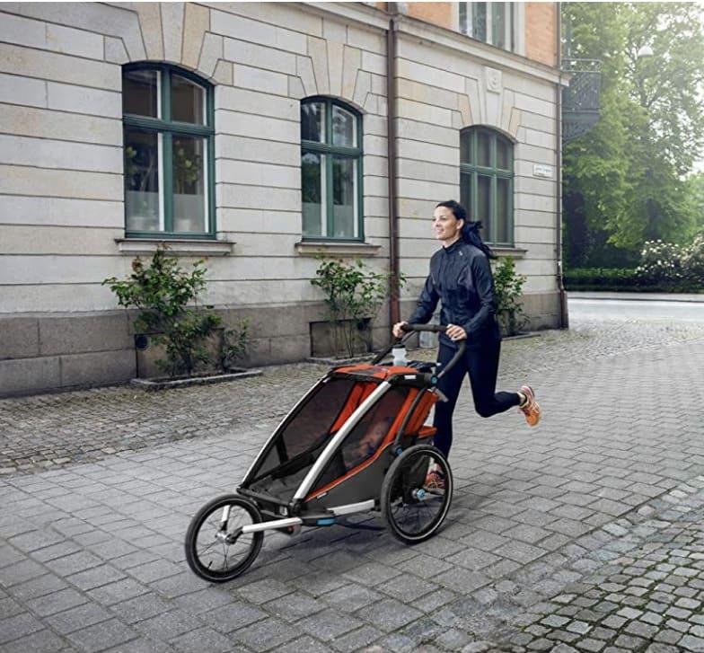Remolques de bicicleta para niños en kit de corredor Thule
