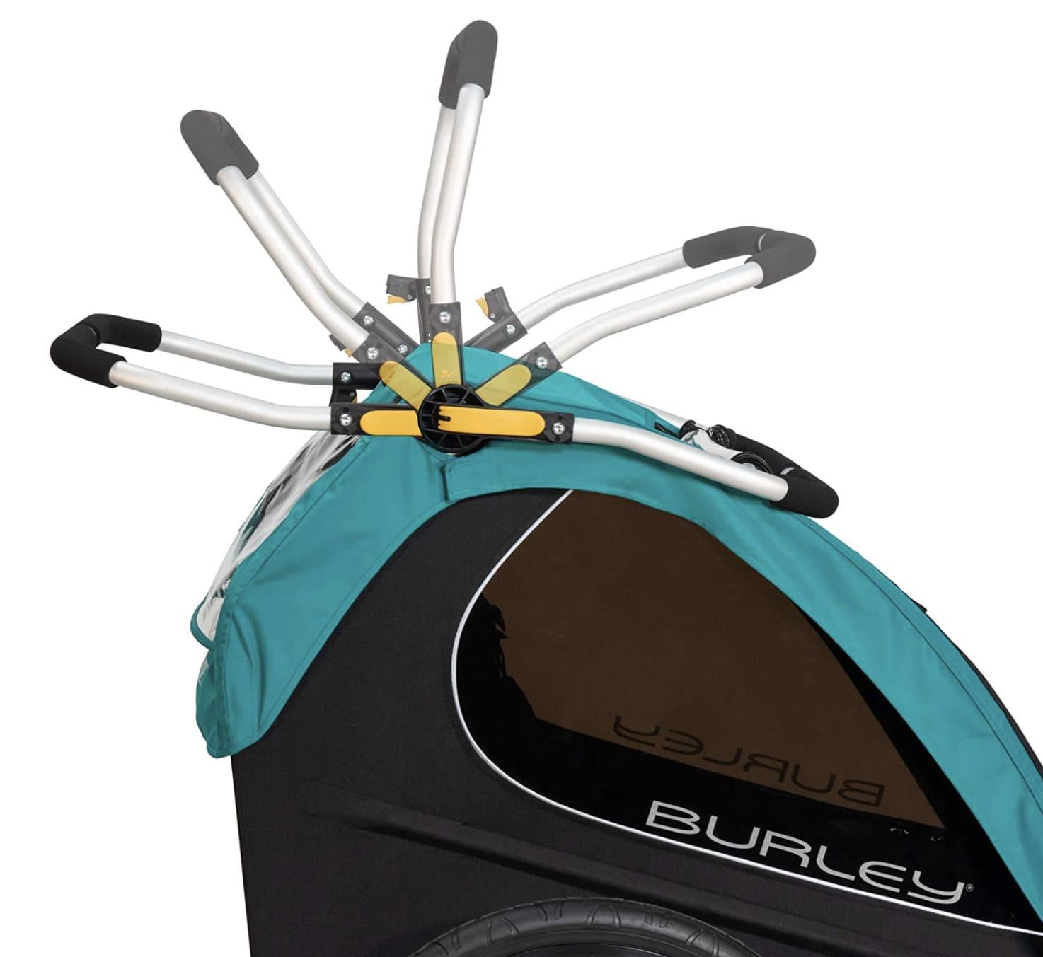 Manillar remolque bicicleta Encore X ajustable en altura
