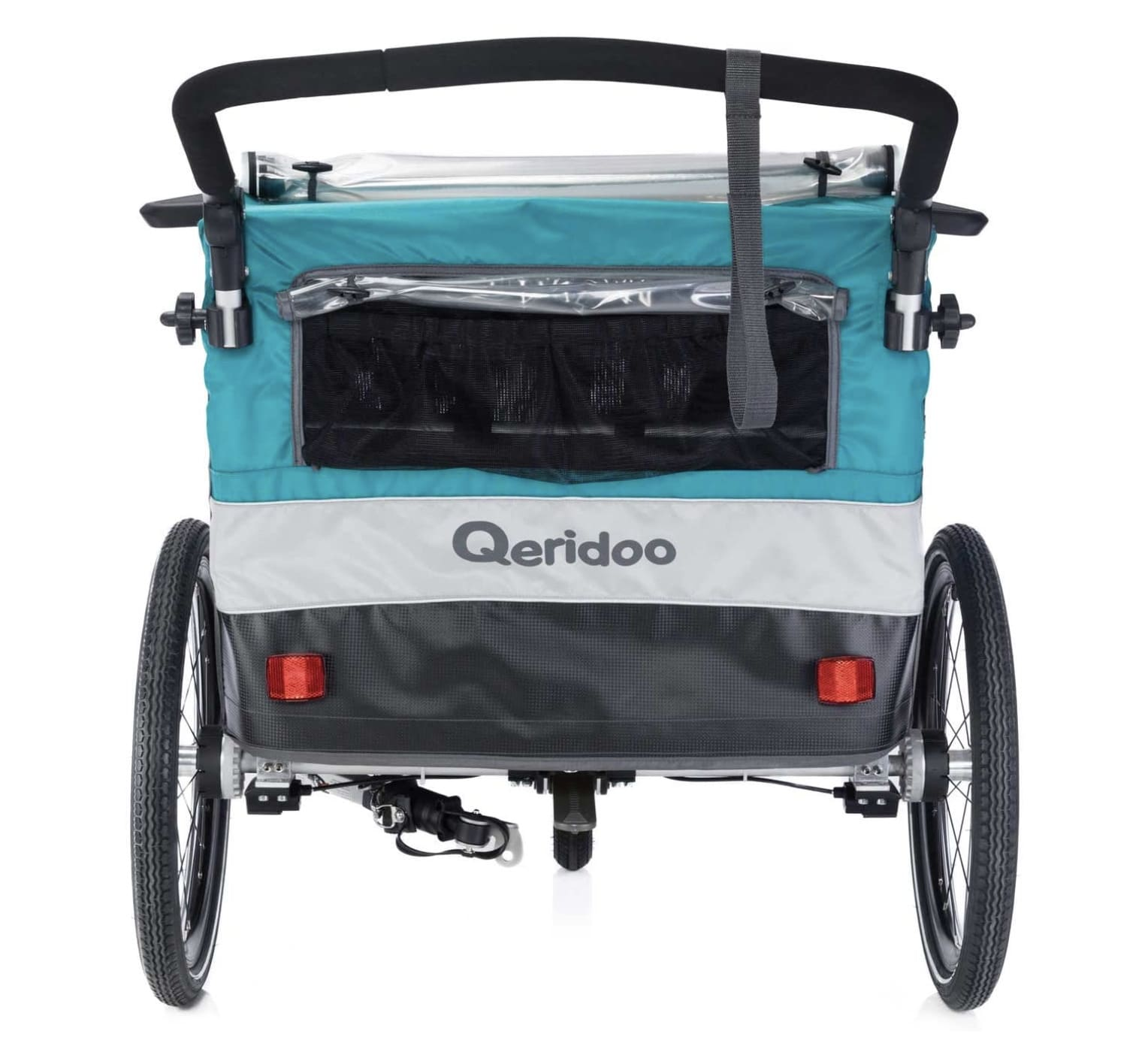 Luces traseras de seguridad de los remolques de bicicleta para niños Qeridoo