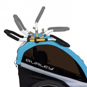 Manillar ajustable en múltiples alturas de los remolque de bicicleta para niños Burley