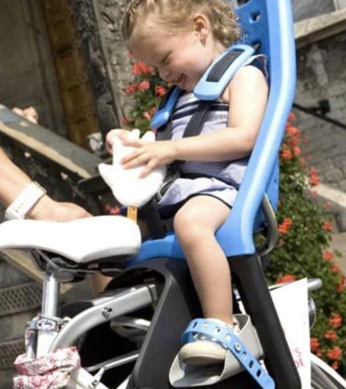 silla bebe bici