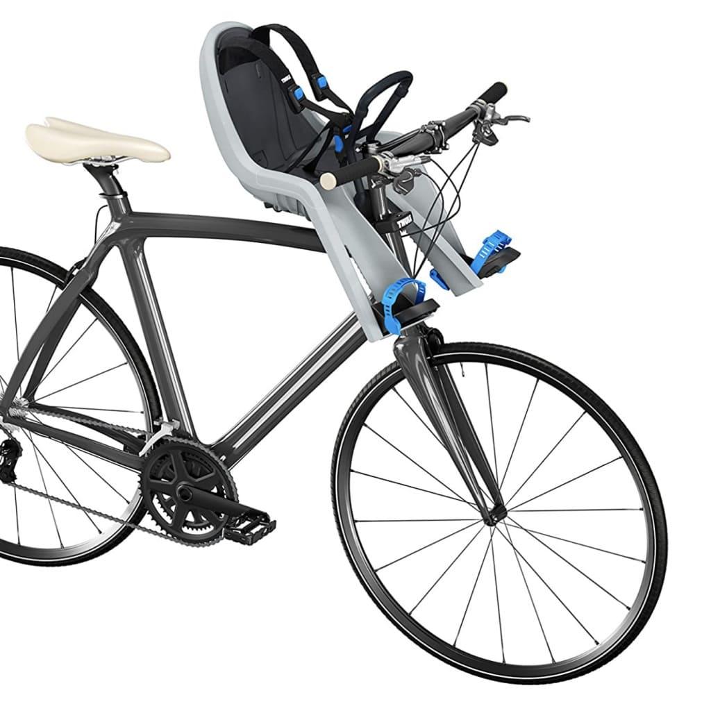Asiento delantero de bicicleta Thule Ride Along Mini instalado