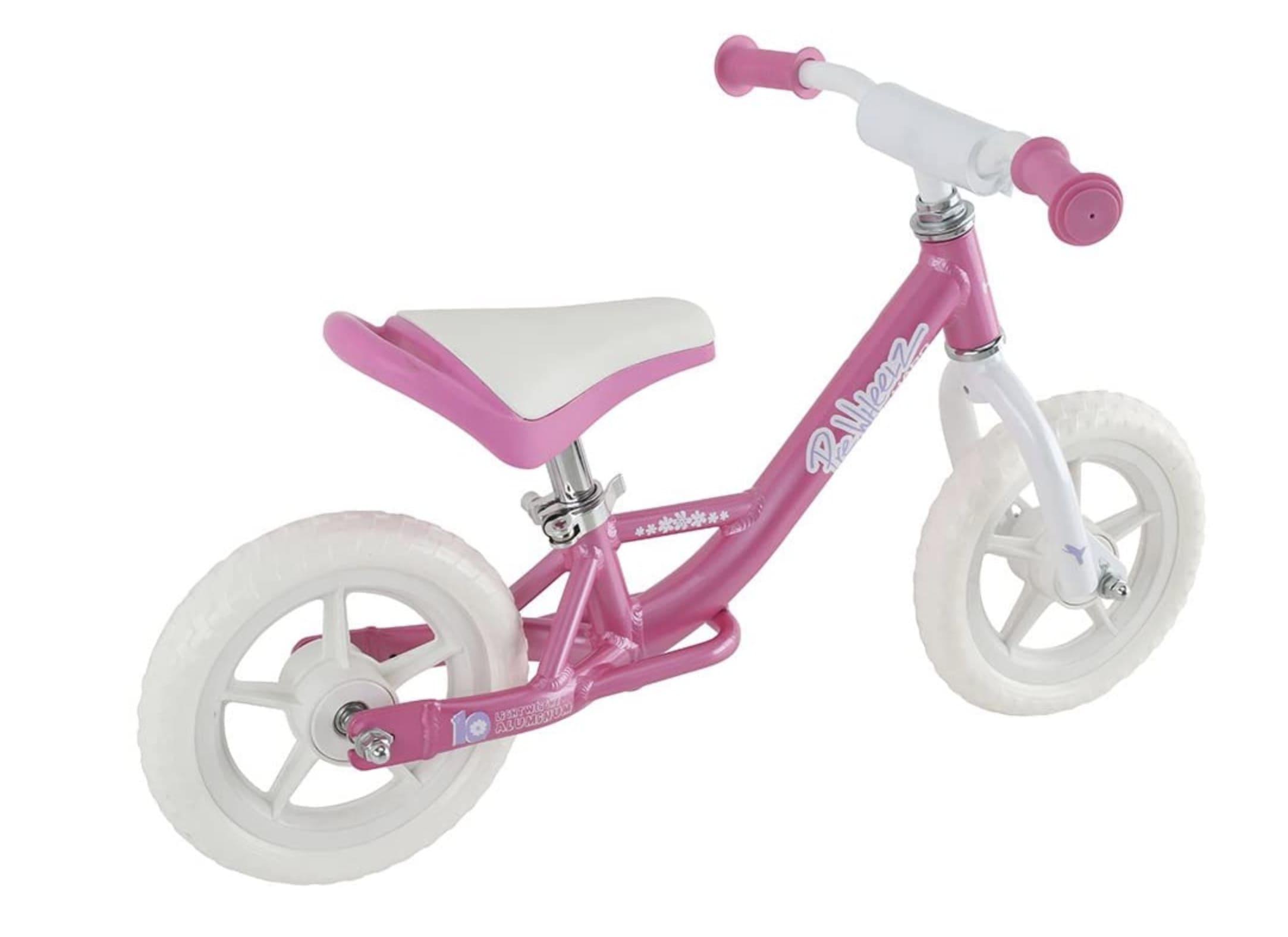 Bicicleta sin pedales para niña Hero PreWheelz rosa
