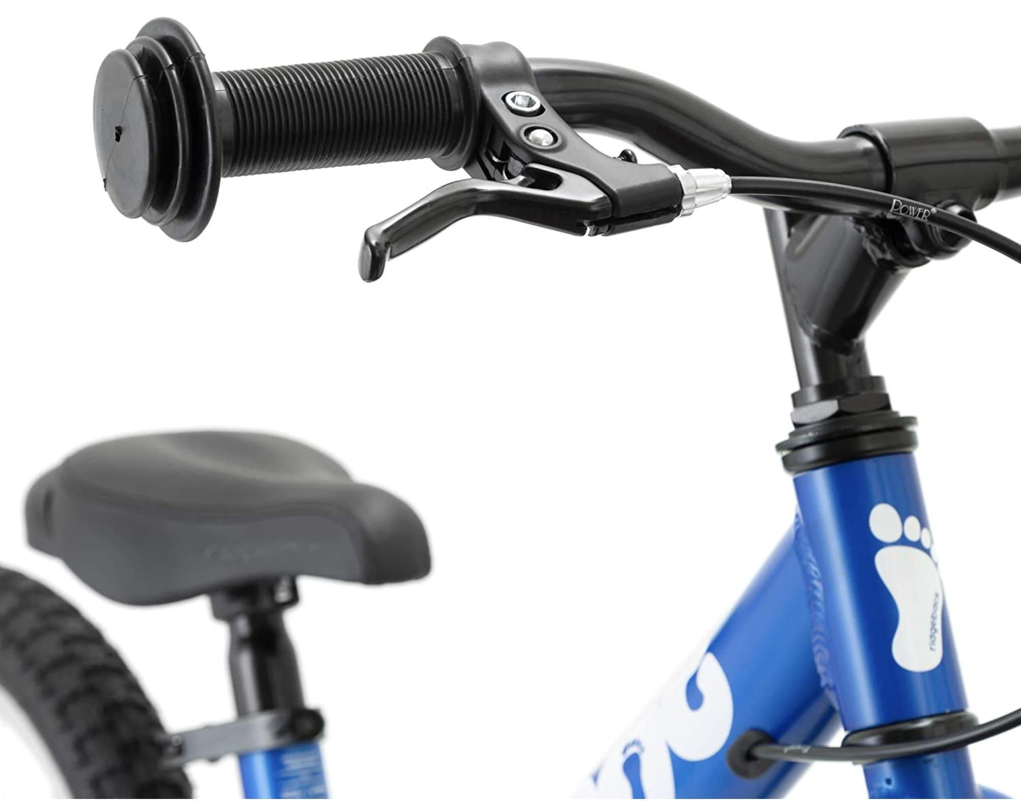 Freno de mano en la bicicleta sin pedales de Rigdeback Scoot XL