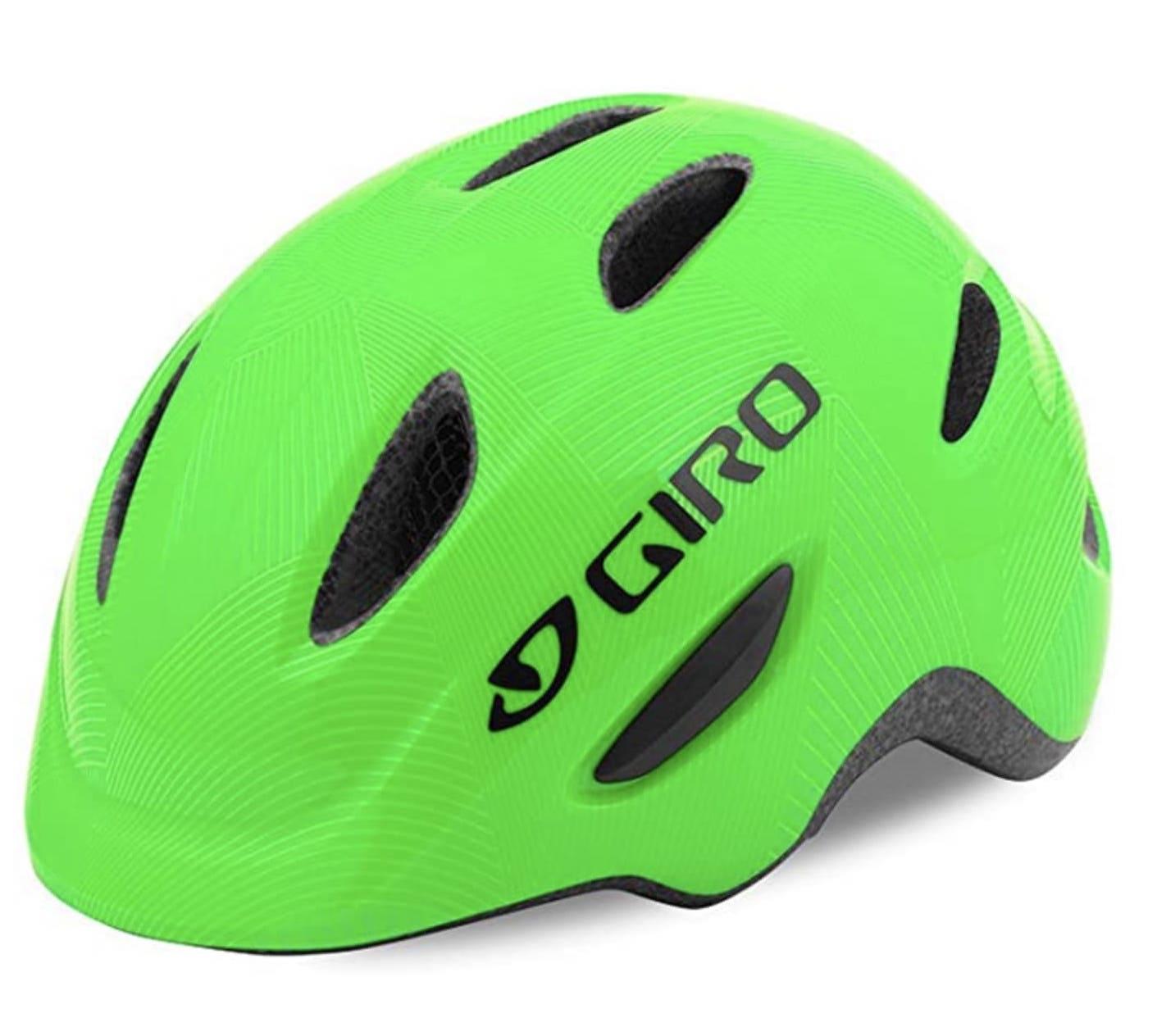 casco para niños verde Giro Scamp