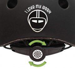 Dial para un ajuste interno de las correas del casco de bicicleta para niños Nutcase Little Nutty