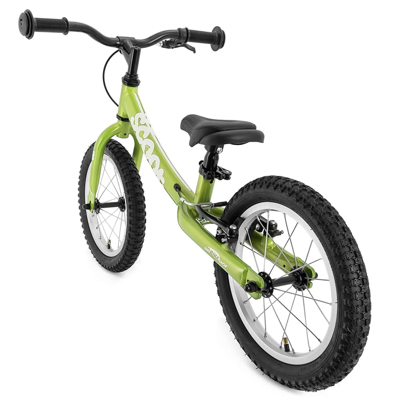 Bicicleta sin pedales para niño Rigdeback Scoot XL vista desde atrás