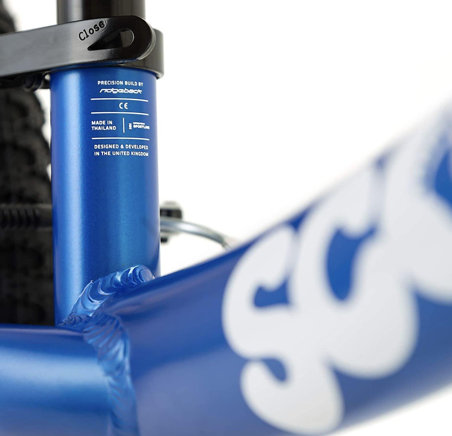 Palanca de liberación rápida de la bicicleta sin pedales Rigdeback XL