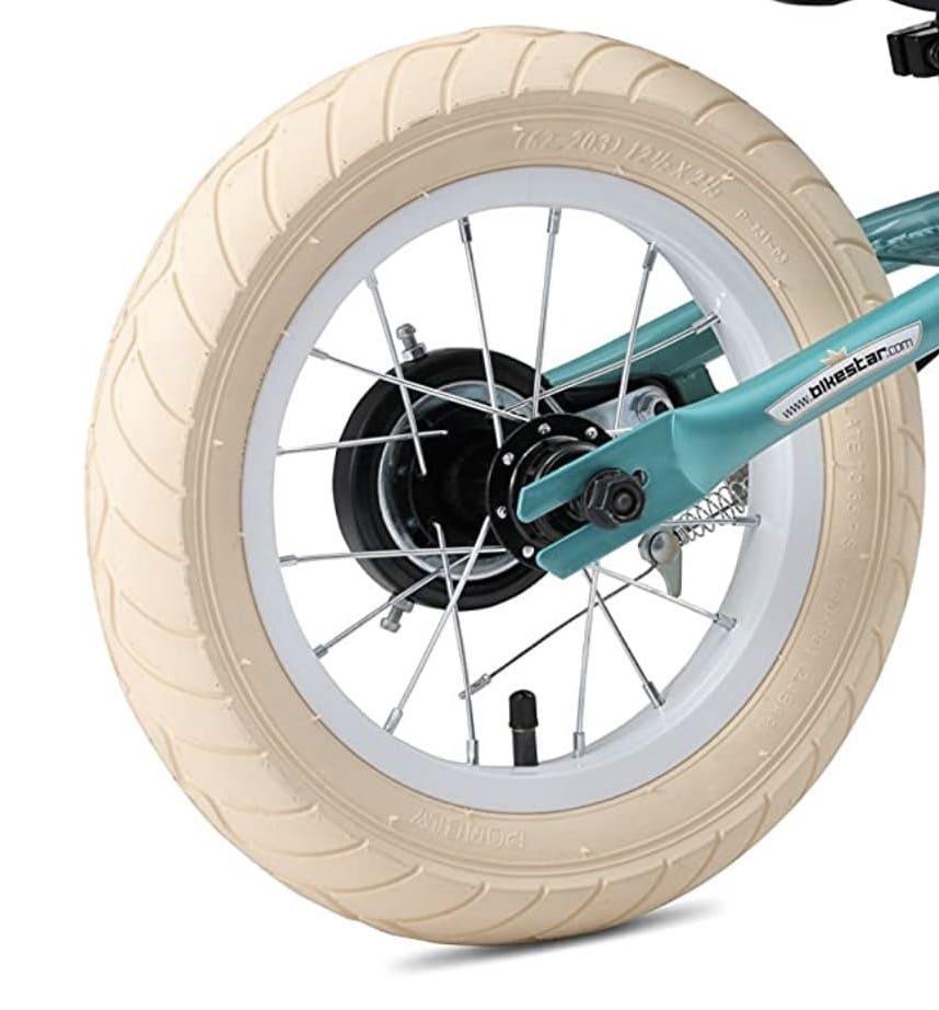 Neumático de aire de la bicicleta sin pedales BikeStar