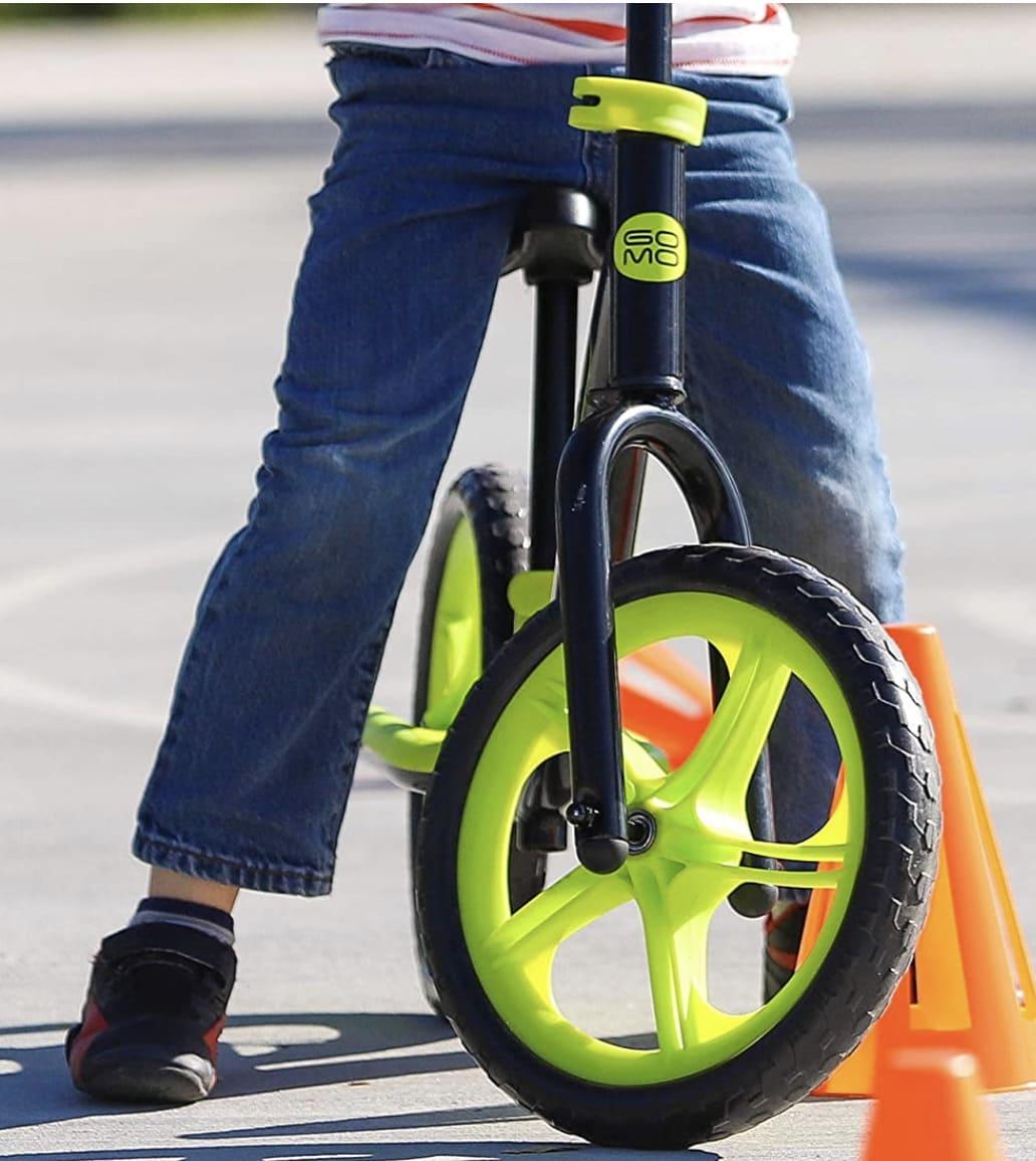Rueda delantera de espuma de la bicicleta sin pedales Gomo
