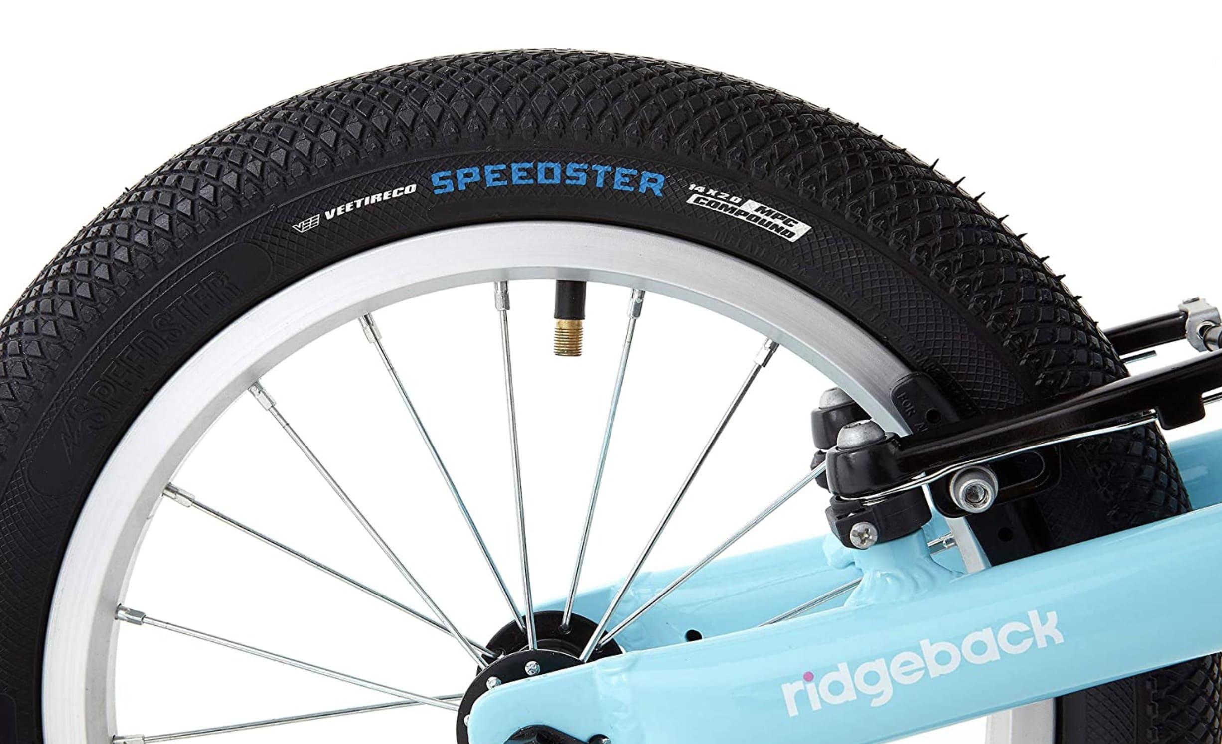 Válvula en la rueda de la bicicleta sin pedales Rigdeback XL