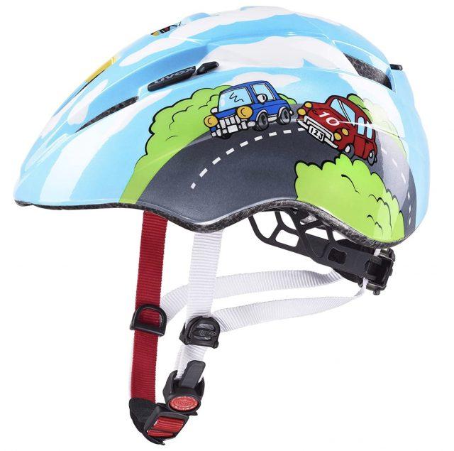 casco bici bebe uvex kid 2 lateral