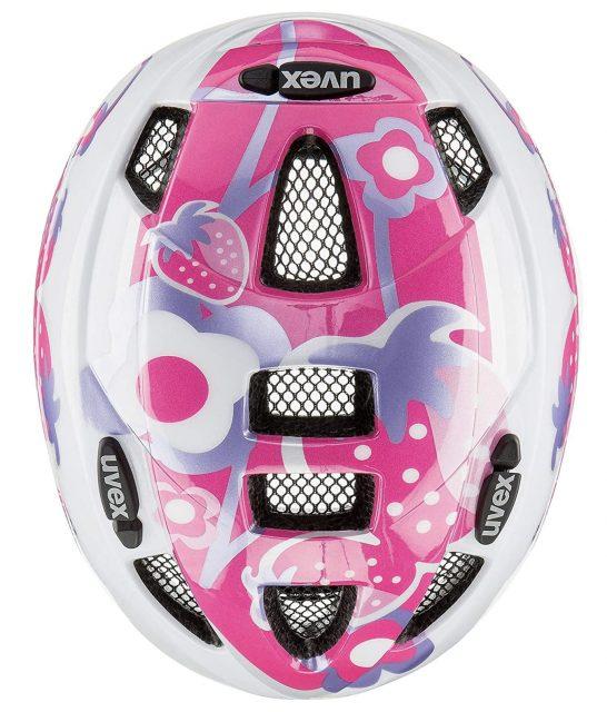 Uvex kid 2 casco bici bebe parte superior