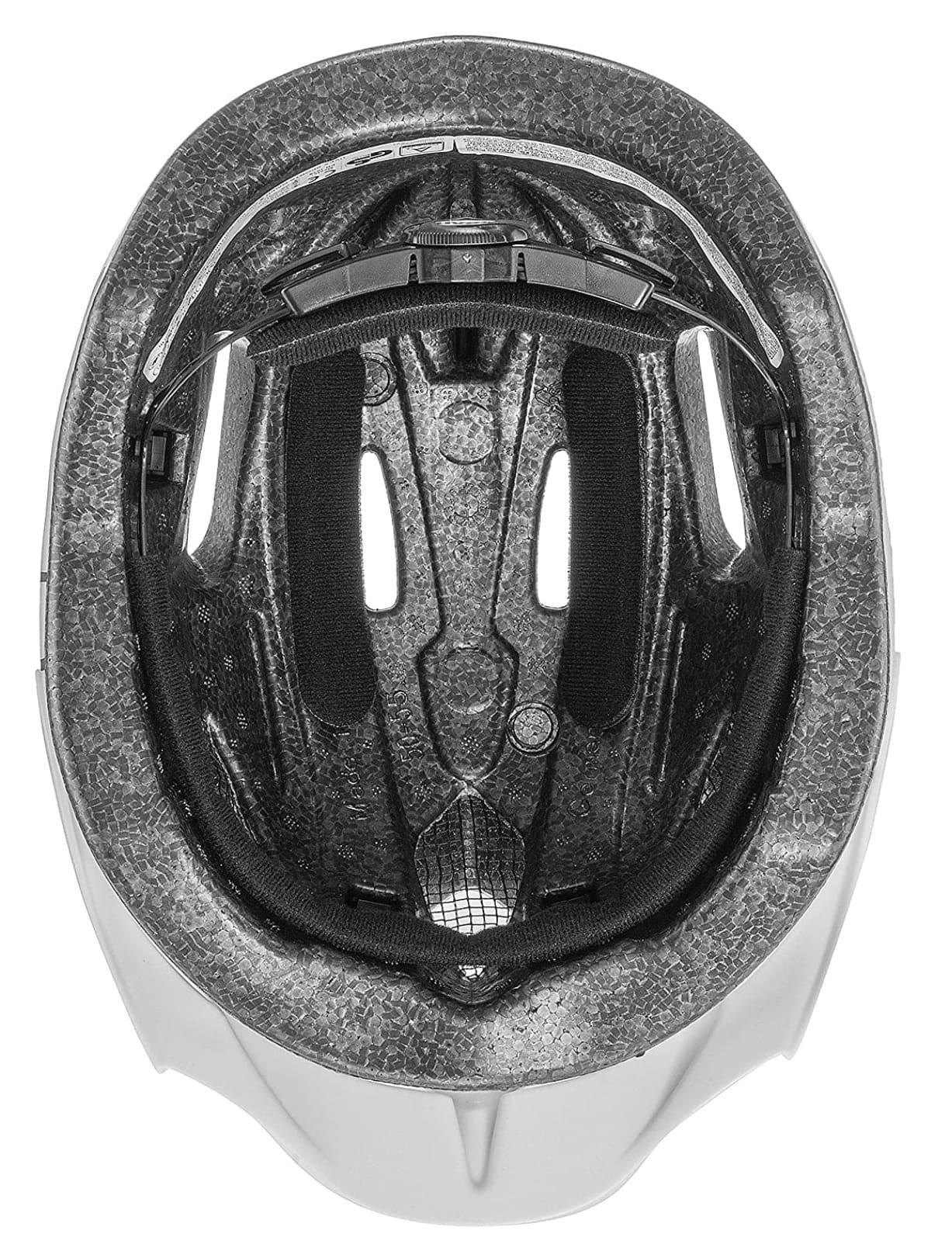 Interior con almohadillas del casco para niños Uvex Quatro