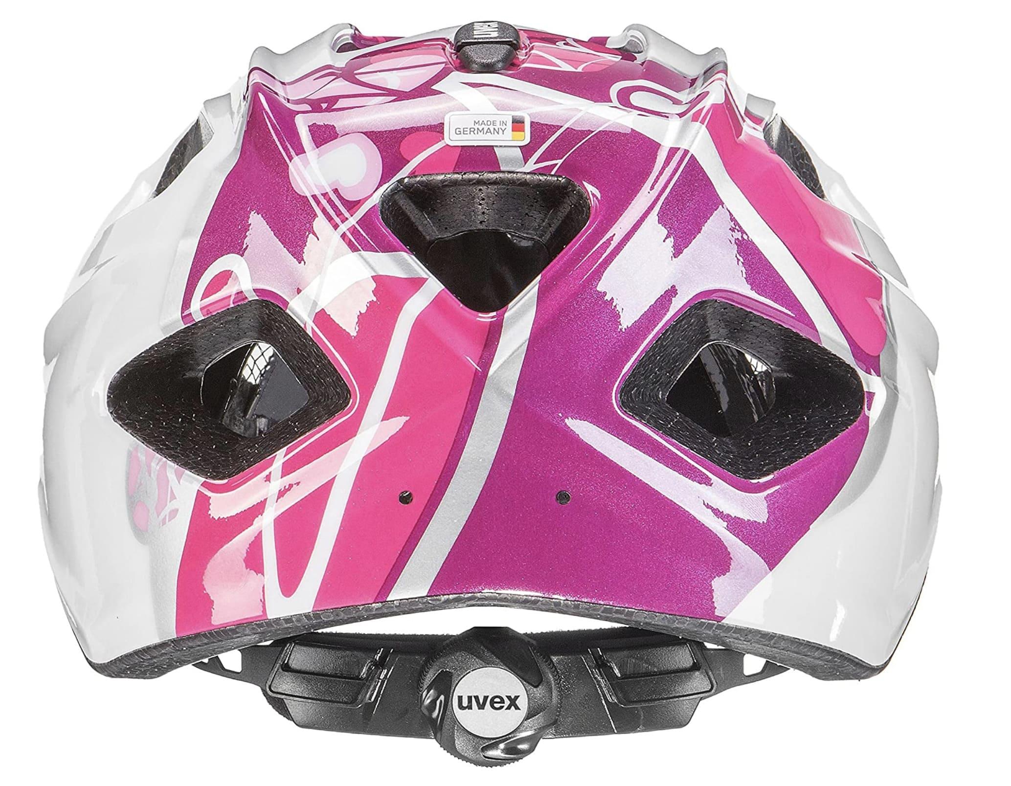 Ajuste por dial del casco para niño Uvex Quatro