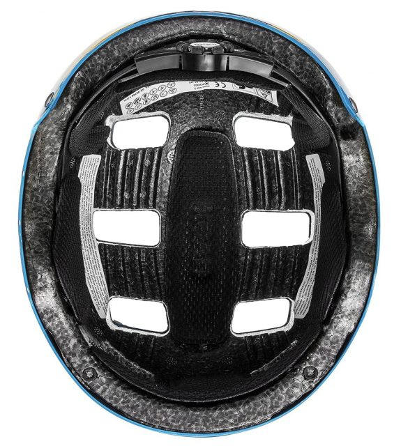 parte interior del casco bici niño uvex kid 3