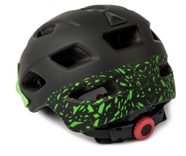casco bici niño exclusky dial trasero