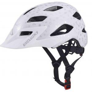 casco bici niño Exclusky lateral y correas