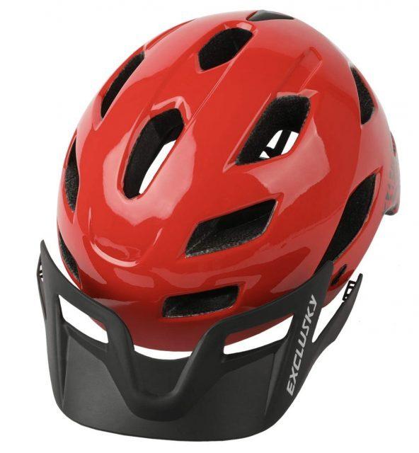 casco bici niño Exclusky con visera extraible