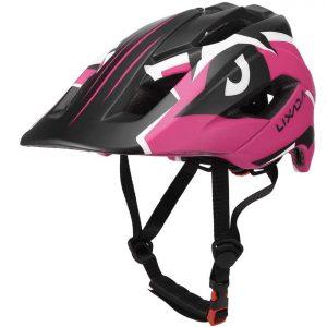 casco integral de biciclet apara niño lixada rosa